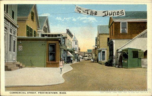 Commercial Street Provincetown Massachusetts