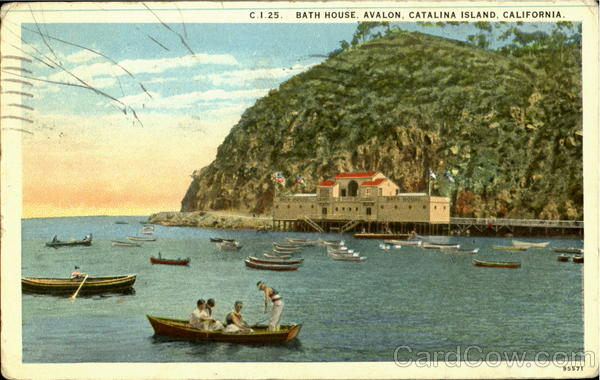 Bath House, Avalton Catalina Island California