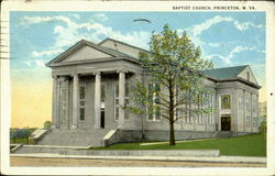 Bapitist Church Postcard