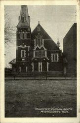Trinity M.E Church South Postcard