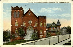 First Ev. Lutheran Church And Parsonage