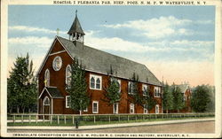 kosciol i Plebania Par. Niep. Pocg. N.M.P.W /Immaculate Conception of the B.V.M. Polish R.C. Church and Rectory
