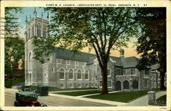 First M.E. Church,(Dedicated Sept. 12, 1926)