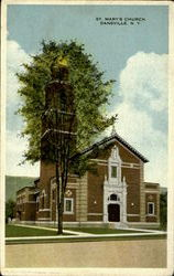 St. Mary'S Church Postcard