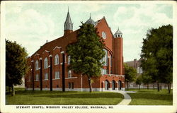 Stewart Chapel, Missouri Valley College Postcard