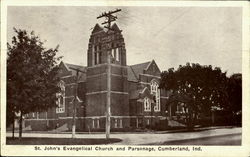 St. John's Evangelical Church and Parsonage