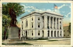 Post Office And Confederate Monument