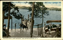 Bathing Hour, Camp Wyanoke Lake
