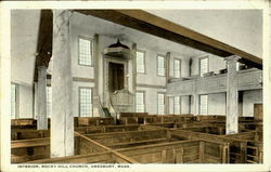 Interior, Rocky Hill Church