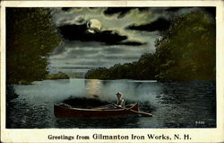 Greetings from Gilmanton Iron Works
