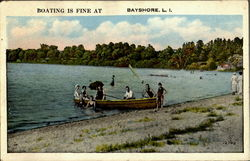 BOATING IS FINE AT BAYSHORE Long Island
