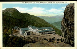 Mt. Mansfield And Hotel Mansfield