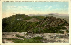 The Summit Of Mt. Mansfield Postcard