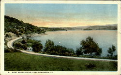West Shore Drive Postcard