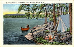 Camping At Lake Shore Park