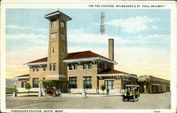On The Chicago, Milwaukee & St. Paul Railway, Passenger Station