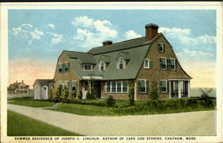 Summer Residence of Joseph C. Lincoln,Auther of Cape Cod Stories Postcard
