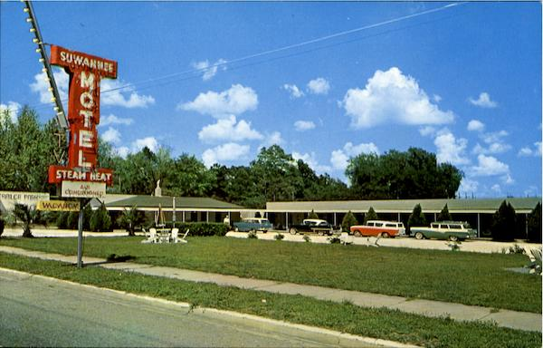 Suwanne Motel And Restaurant, Located On Highway 41 And 129 Jasper Florida