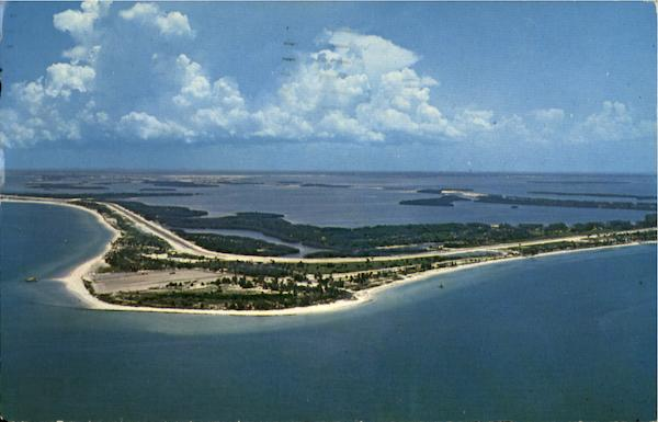 Airview Of Ft. De Soto Park Mullet Key Florida