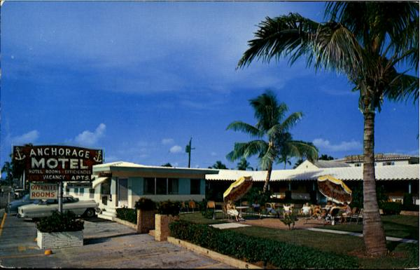 Anchorage Motel, 1515 N. Ocean Drive Hollywood Beach Florida