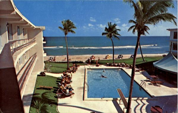 The Barefoot Mailman Hotel & Beach Club, 1061 Hillsboro Mile Pompano Beach Florida