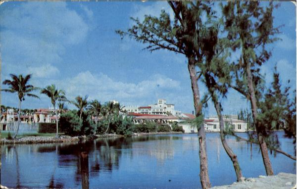 Boca Raton Club View Over Lake Florida