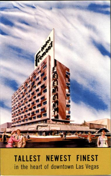 Hotel Fremont In The Heart Of Downtown Las Vegas Neneda Nevada