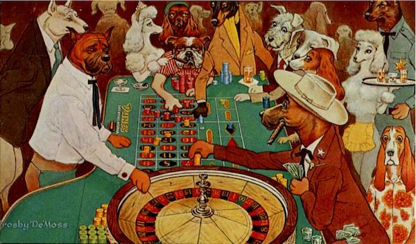 Dogs gambling gambling casinos usa
