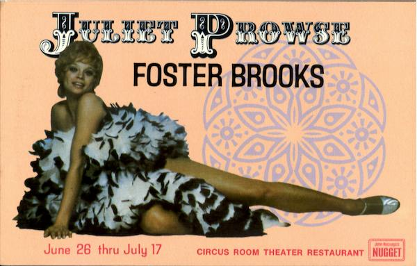 Juliet Prowse Foster Brooks Celebrities