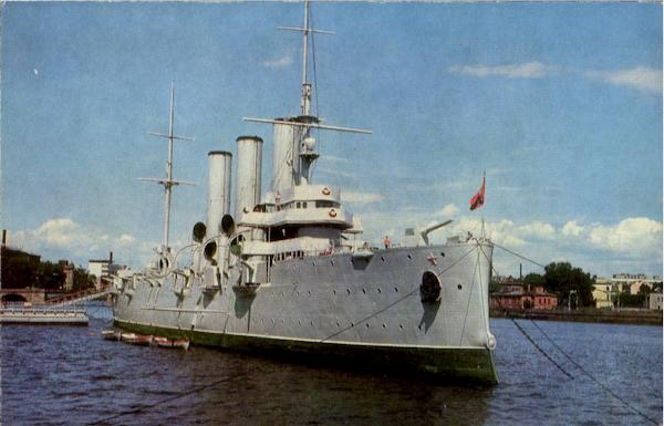 Leningrad The Cruiser Aurora Boats, Ships