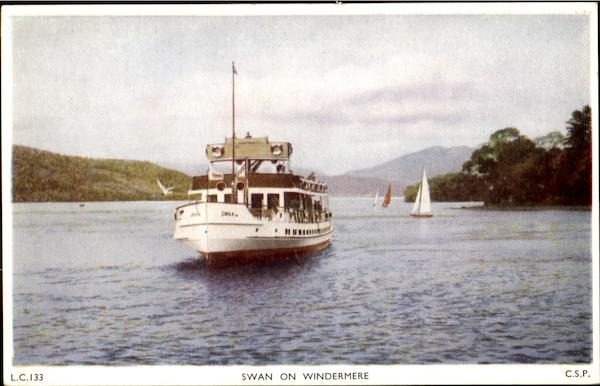 Swan on Windermere Boats, Ships
