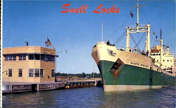 Snell Lock, St. Lawrence Seaway Massena New York