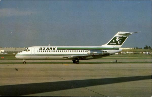 Ozark Airlines Aircraft