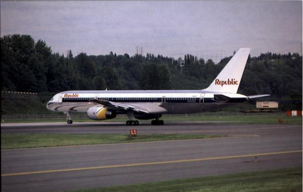Republic Airlines Aircraft