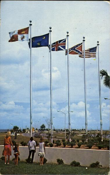 The Five Flags Of Pensacola'S Historic Florida