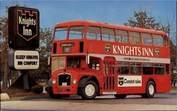Knights Inn Buses