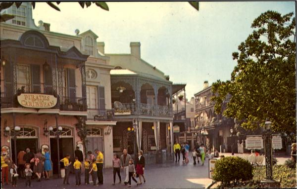 New Orleans Panorama, Disneyland Anaheim California