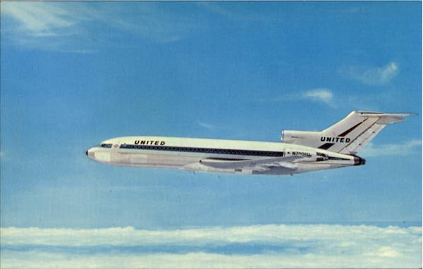United Air Lines Boeing 727 Aircraft