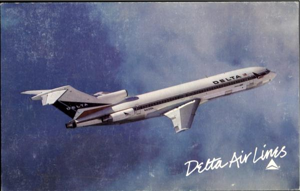 DELTA AIRLINES Boeing 727 Aircraft