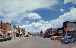 Main Street - Vintage Cars