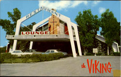 The Viking Restaurant & Lounge, 1150 North Federal Highway Postcard