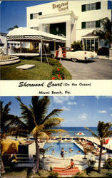 Sherwood Court (On The Ocean) Postcard