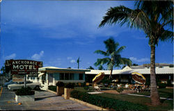 Anchorage Motel, 1515 N. Ocean Drive Postcard