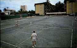 Sea Garden Tennis and Beach Club, four fine clay courts, Sea Garden Hotel, 615 N. Ocean Blvd.