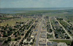 Air view of Clewiston Postcard