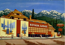 Nevada Lodge Postcard