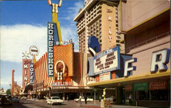 Casino Center, Fremont Street Postcard