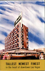 Hotel Fremont In The Heart Of Downtown Las Vegas Neneda Postcard