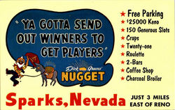 Ya Gotta Send Out Winners To Get Players- Dick Graves' Nugget