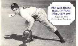 Pee Wee Reese Hall of Fame Induction Day
